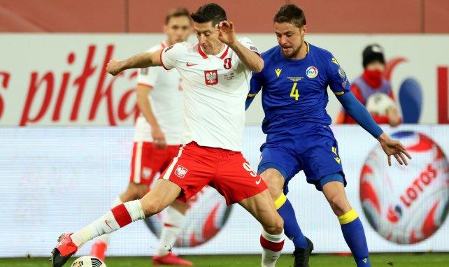 Robert Lewandowski im Trikot der polnischen Nationalmannschaft