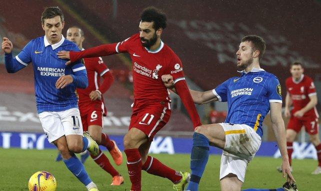 Mohamed Salah im Spiel gegen Brighton