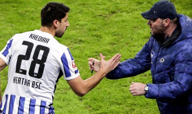 Sami Khedira mit Trainer Pál Dárdai