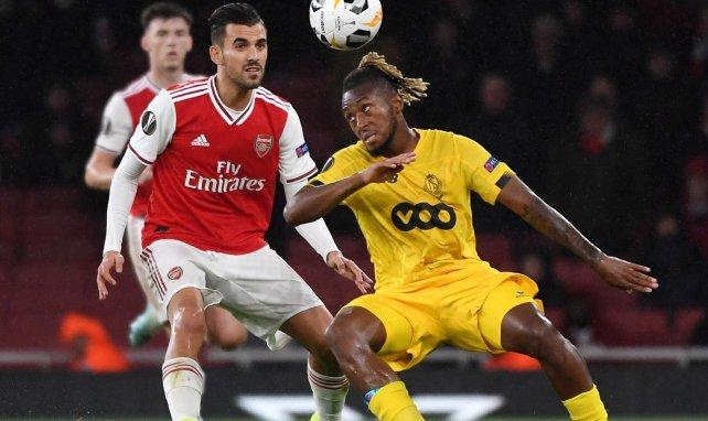 Samuel Bastien in der Europa League gegen Arsenal