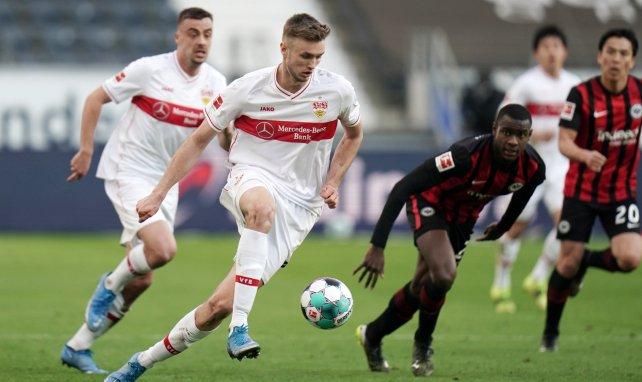 Sasa Kalajdzic im Einsatz gegen Eintracht Frankfurt