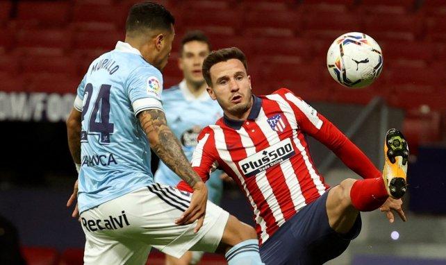 Saúl Ñíguez im Einsatz für Atlético Madrid