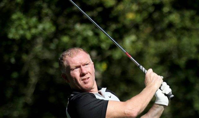 Paul Scholes ist Hobby-Golfer