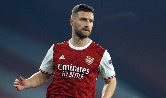Shkodran Mustafi im Einsatz für den FC Arsenal