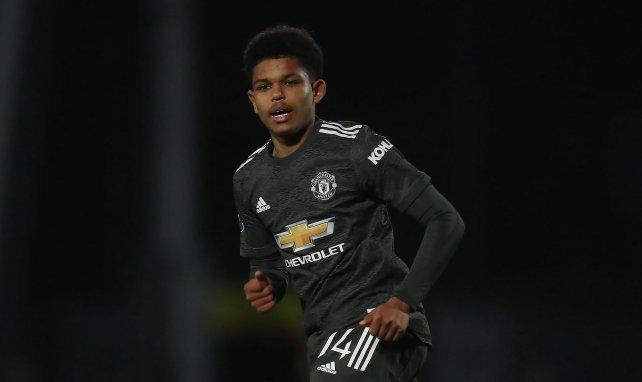 Shola Shoretire wird bei Manchester United ausgebildet