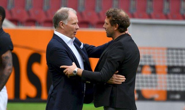 Geschäftsführer Stefan Reuter und Trainer Markus Weinzierl