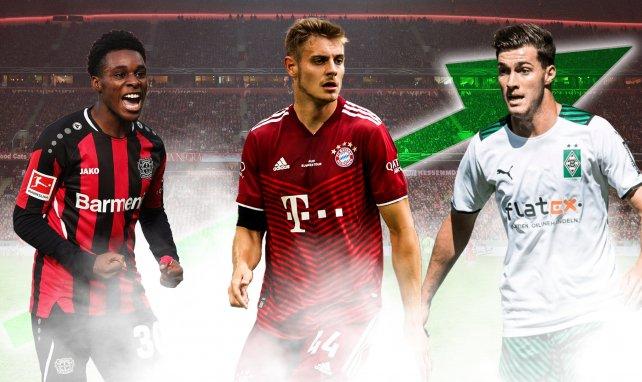 Die sieben Senkrechtstarter der Bundesliga-Saison