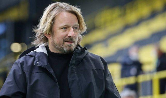 Sven Mislintat bei der Partie VfB Stuttgart gegen Borussia Dortmund