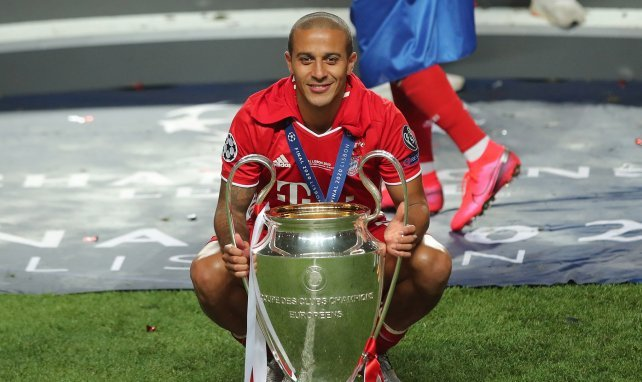 FC Bayern: Thiagos Abschiedsworte