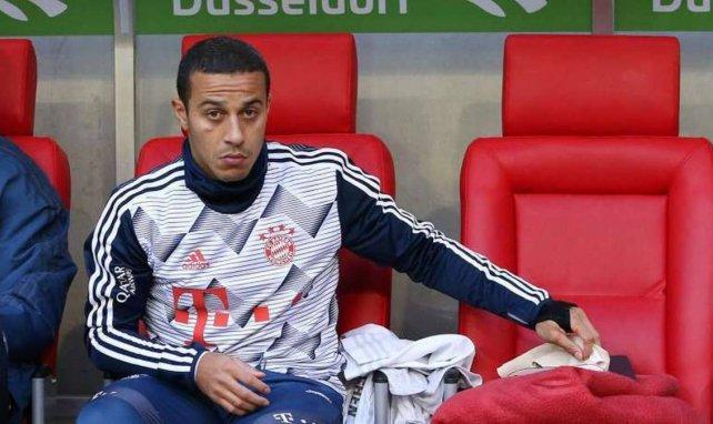 Thiagos Vertrag beim FC Bayern endet 2021