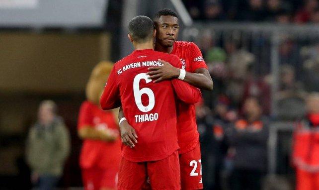 Medien: Bayern-Schmerzgrenze bei Thiago und Alaba
