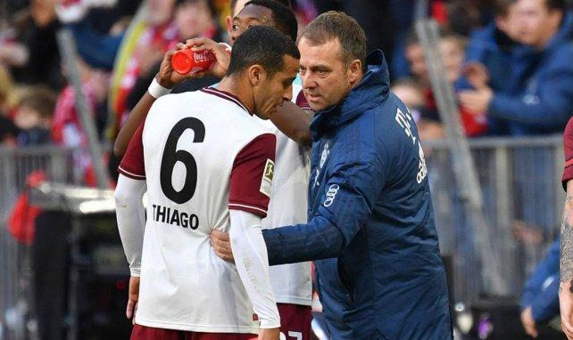 Hansi Flick ist mit Thiago im ständigen Austausch