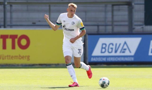Timo Becker im Einsatz für Schalke II