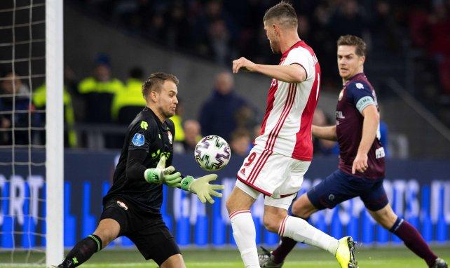 Timon Wellenreuther (l.) im Einsatz für Willem II