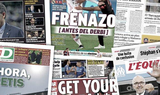 Verhaftungswelle bei Barça | Bale verzückt Real