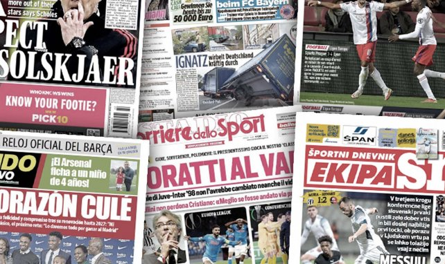 Albtraum für Rom | Dzekos Ziel | Arsenal im Jugendwahn