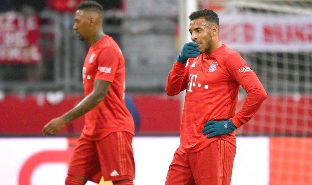 Corentin Tolisso (r.) spielt seit 2017 beim FC Bayern