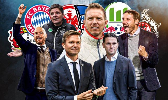 Zahlreiche Trainer könnten zur kommenden Saison den Klub wechseln