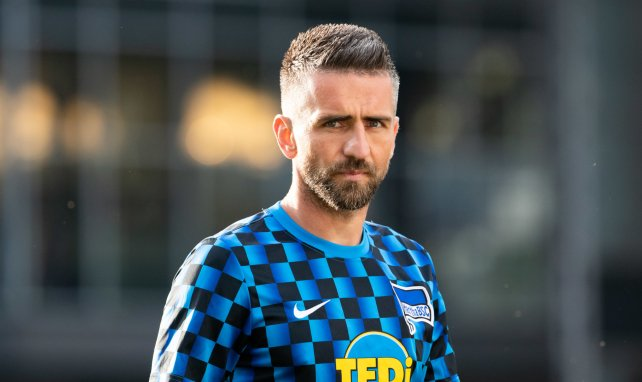 Vedad Ibisevic im Trainings-Outfit von Hertha BSC