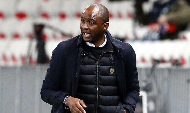 Patrick Vieira als Trainer von OGC Nizza