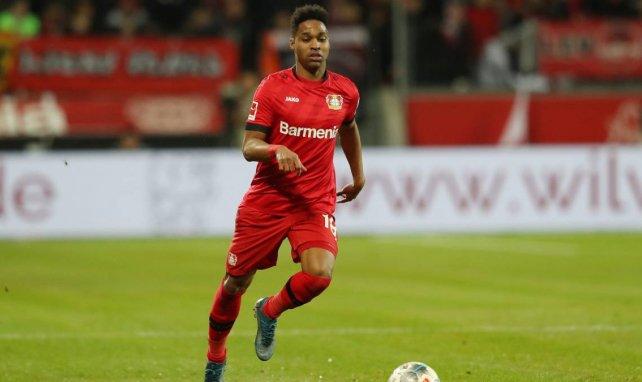 Wendell am Ball für Bayer Leverkusen