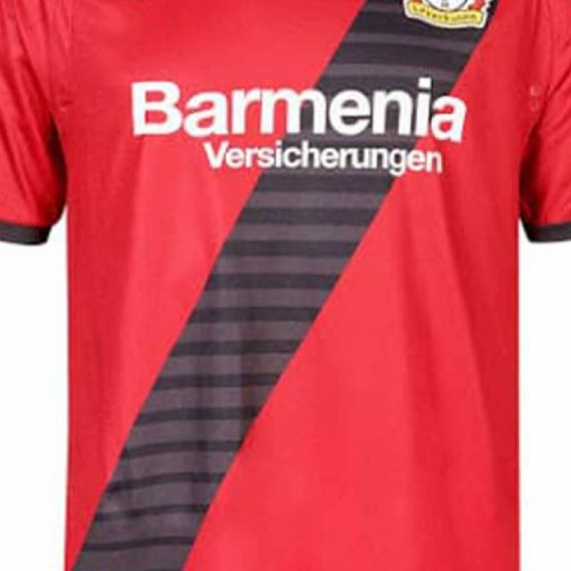 Trikot Bayer 04 Leverkusen auswärts 2017/2018