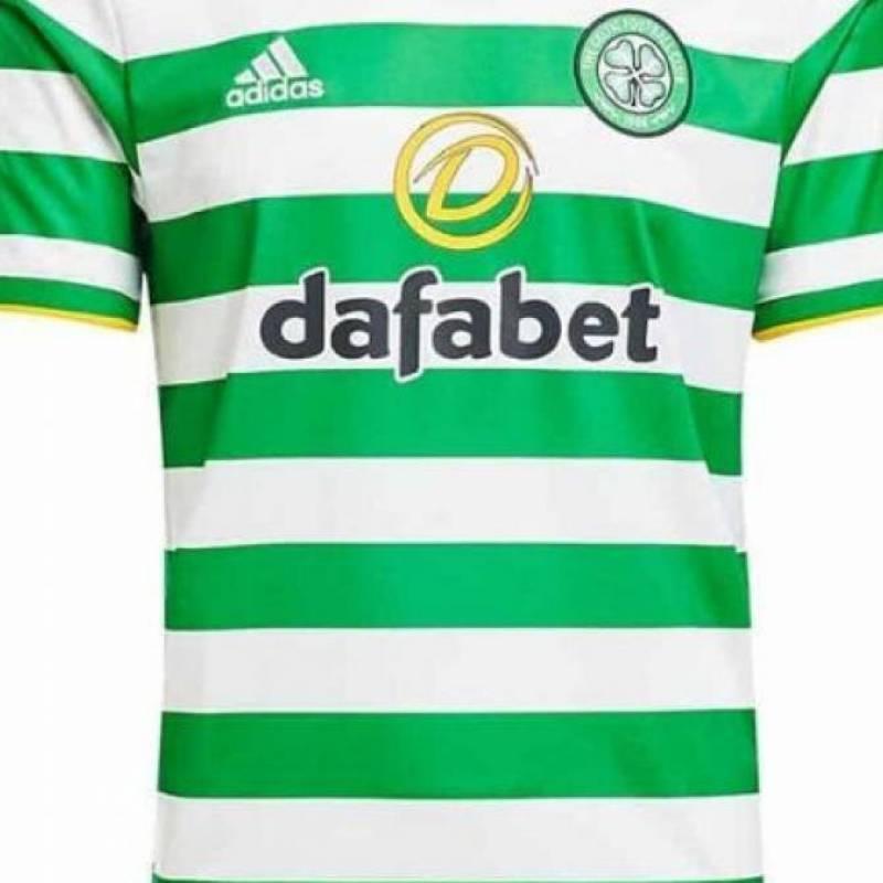 Trikot Celtic Glasgow zuhause 2020/2021