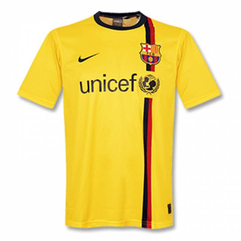Trikot FC Barcelona auswärts 2008/2009