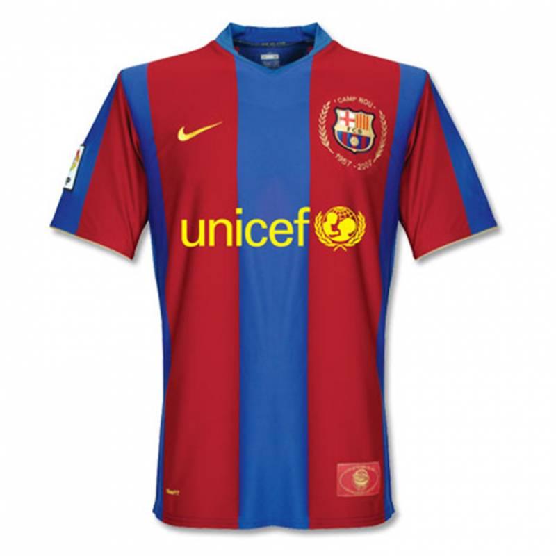 Trikot FC Barcelona zuhause 2007/2008
