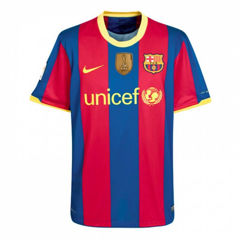 Trikot FC Barcelona zuhause 2010/2011
