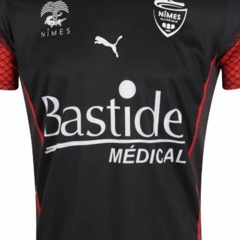 Trikot Olympique Nîmes Ausweichtrikot 2020/2021