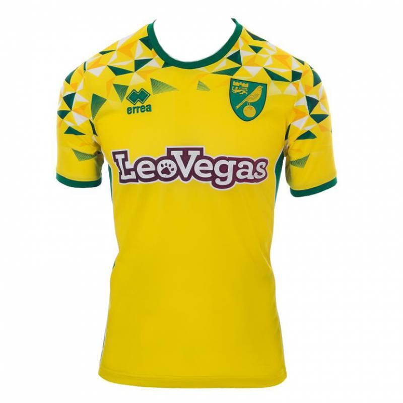 Trikot Norwich City zuhause 2018/2019