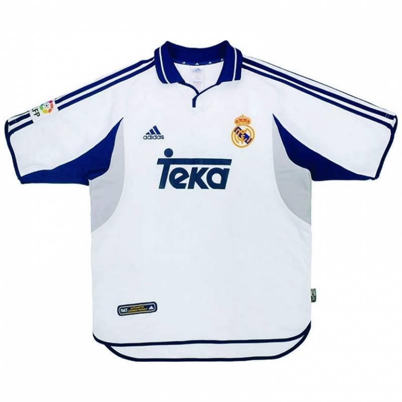 Trikot Real Madrid CF zuhause 2000/2001
