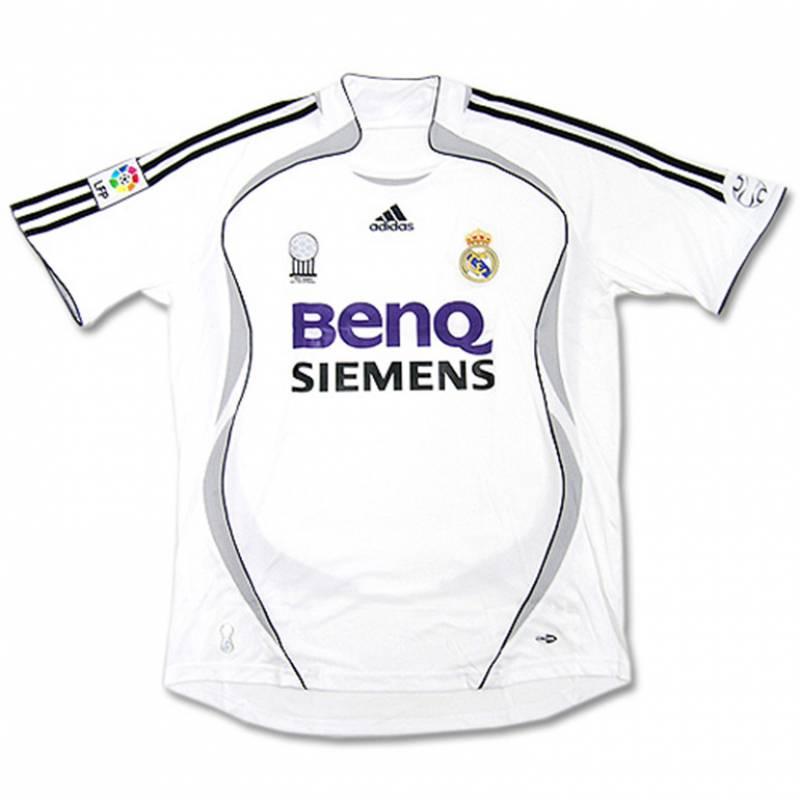 Trikot Real Madrid CF zuhause 2006/2007