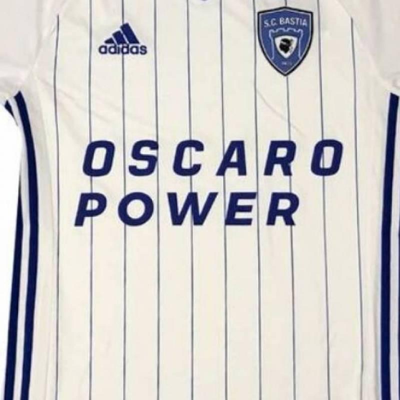 Trikot SC Bastia auswärts 2020/2021