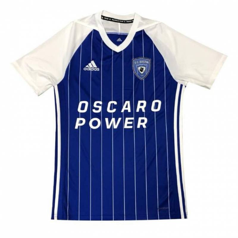 Trikot SC Bastia zuhause 2020/2021