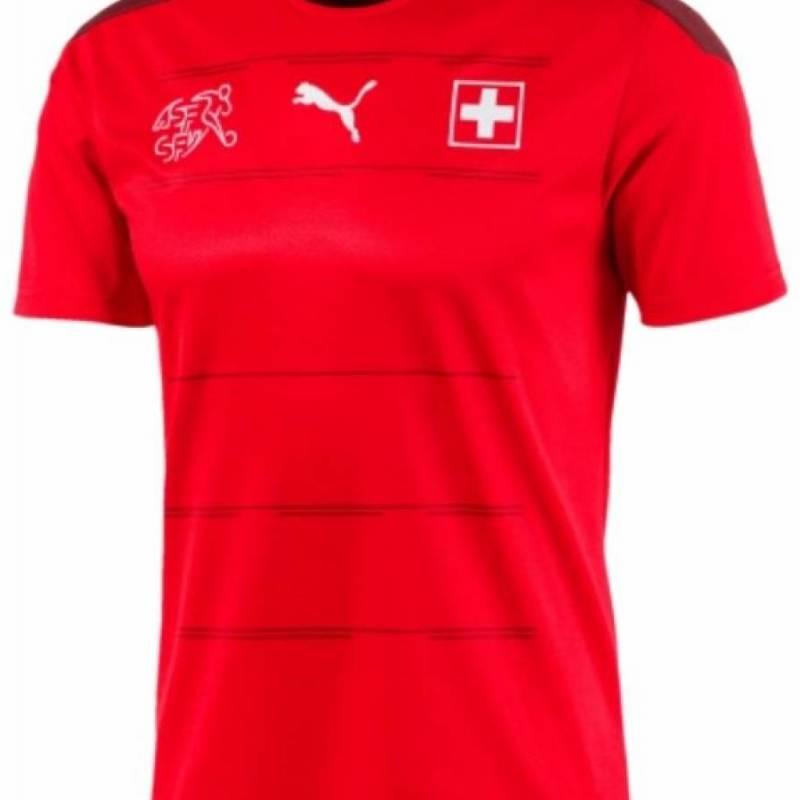 Trikot Schweiz zuhause 2020