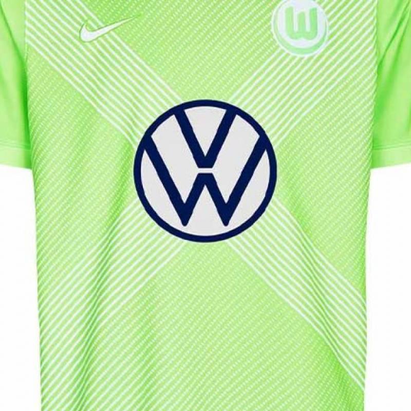 Trikot Wolfsburg zuhause 2020/2021